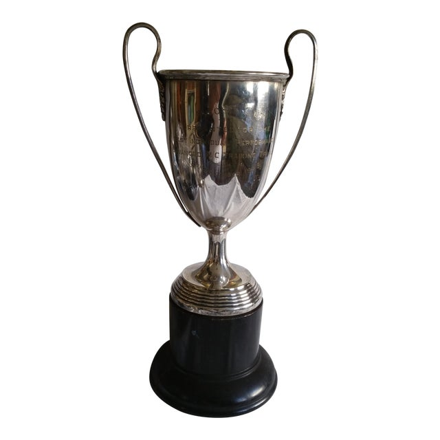 Large Silver Horse Riding Trophy - Image 1 of 4