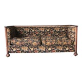 Image of 1930's Antique Sofa With Down Filled Cushions For Sale
