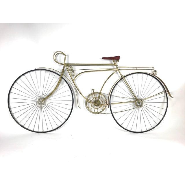 1980s 1980s Vintage C. Jere Ten Speed Racing Bicycle Metal Wall Sculpture For Sale - Image 5 of 6