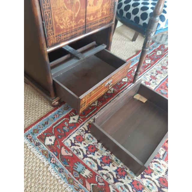 Vintage Chinese Scene Chest, With 2 Drawers For Sale In Kansas City - Image 6 of 7