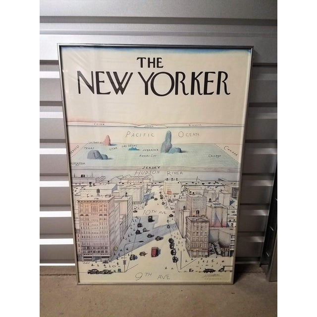 Off-white The New Yorker Saul Steinberg Art Print For Sale - Image 8 of 8