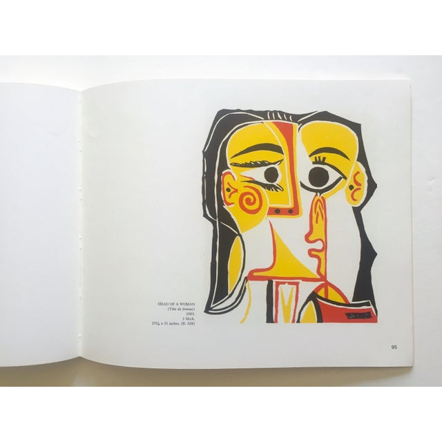 """ Picasso Linocuts 1958 - 1963 "" Rare Vintage 1968 1st Edition Lithograph Print Collector's Exhibition Art Book For Sale - Image 11 of 13"