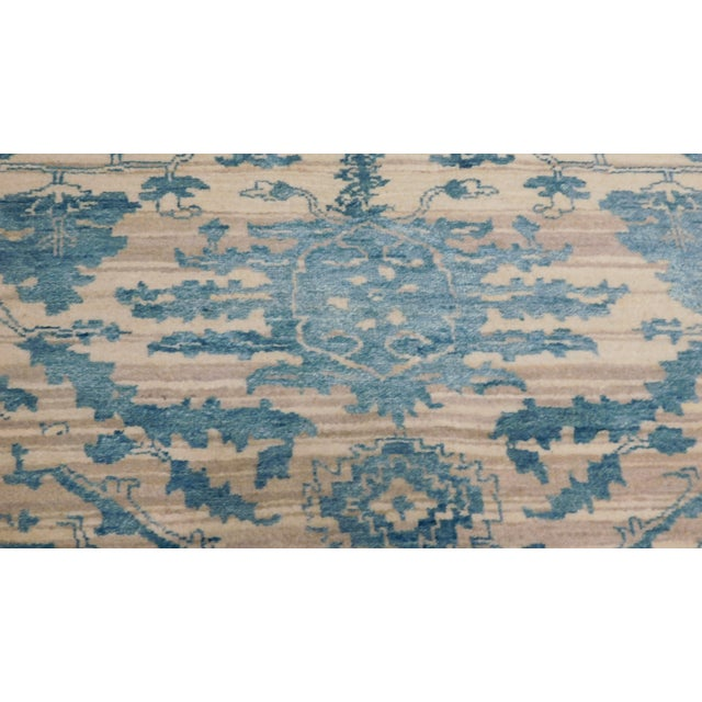 "Erased Hand-Knotted Luxury Rug - 7'10"" X 10'2"" - Image 2 of 10"
