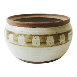 Vintage Handmade Pottery Cache Pot