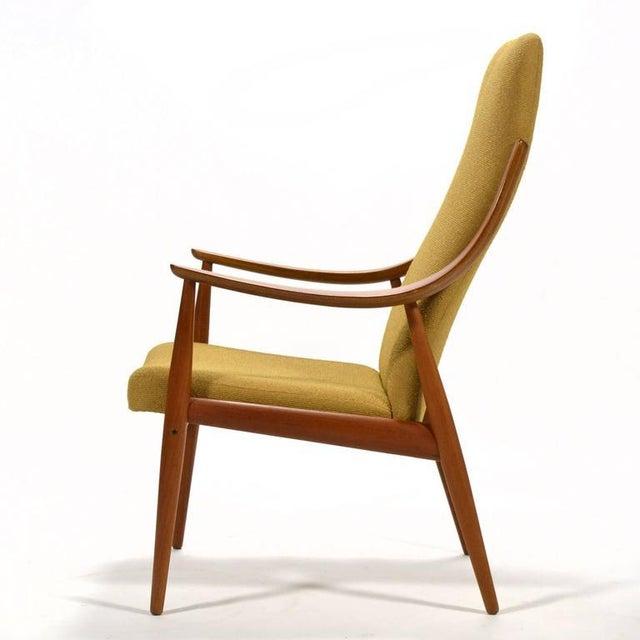 1950s Peter Hvidt & Orla Mølgaard-Nielsen High Back Easy Chair For Sale - Image 5 of 11