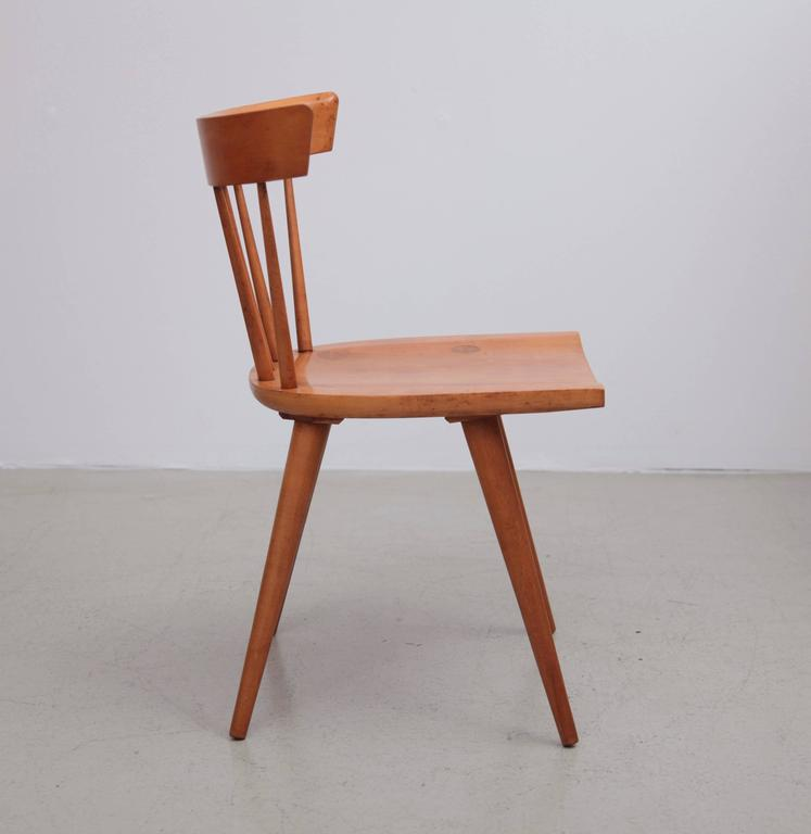 Set Of Eight Paul McCobb Spindle Back Chairs For Winchendon, USA, 1950s    Image