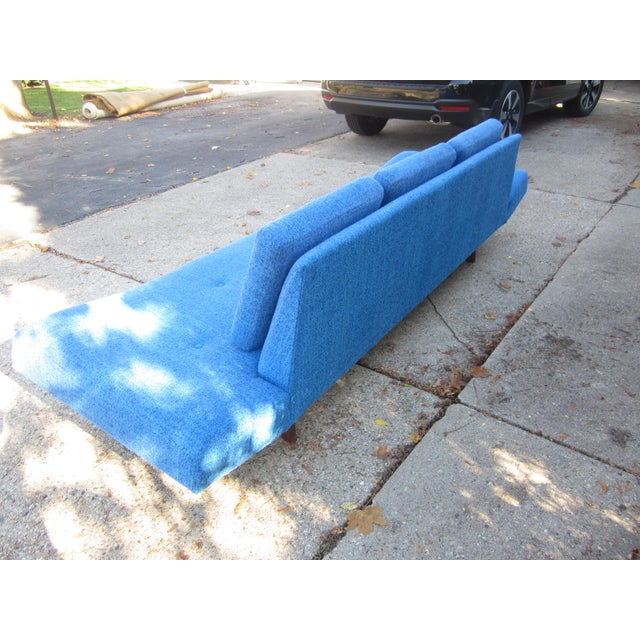 Adrian Pearsall Gorgeous Mid-Century Modern Adrian Pearsall Gondola Couch For Sale - Image 4 of 7