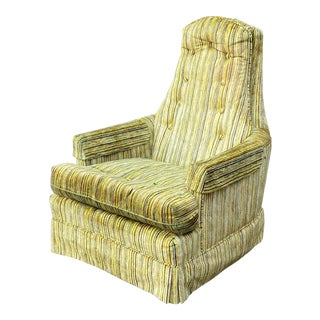 Schweiger High Back Lounge Chair For Sale