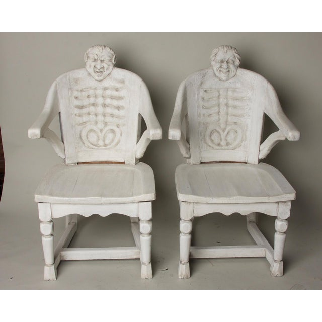 Late 19th Century Antique Anatomical Chairs- A Pair For Sale - Image 9 of 9