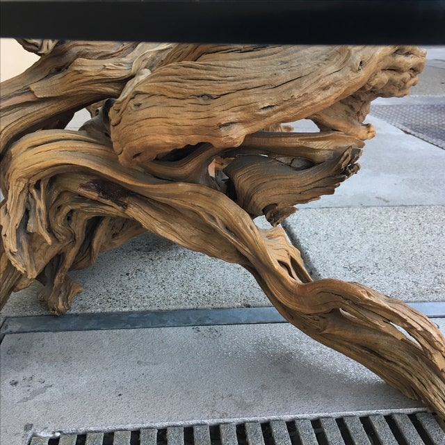 Driftwood Base Coffee Table - Image 8 of 10