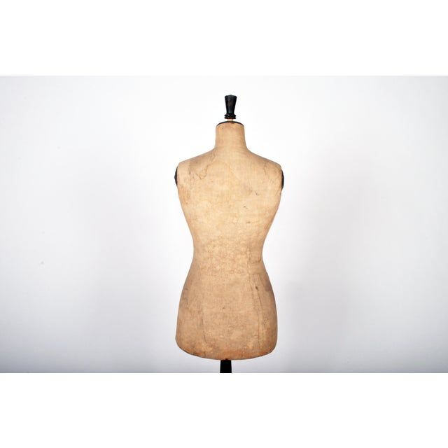 Vintage French Women's Dress Form For Sale - Image 4 of 8