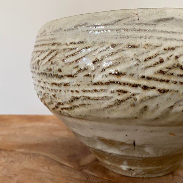 Chinese Antique Chinese Pottery Bowl For Sale - Image 3 of 6