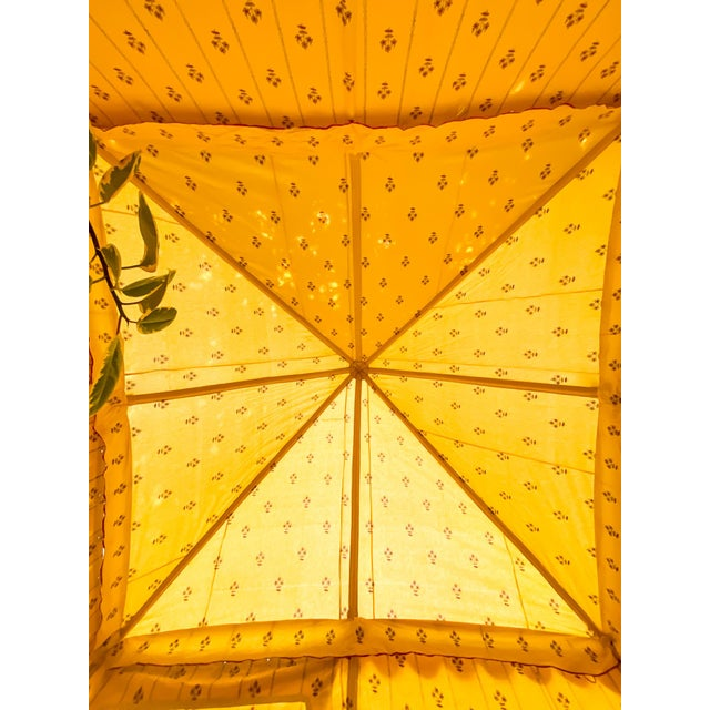 Contemporary Maharani Garden Tent For Sale - Image 11 of 13