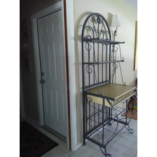 Metal Baking Rack with Grapevine Motif - Image 5 of 5