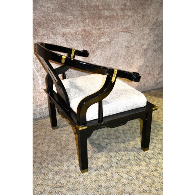 1980s Pallavisini Asian Style Italian Chair For Sale - Image 9 of 12