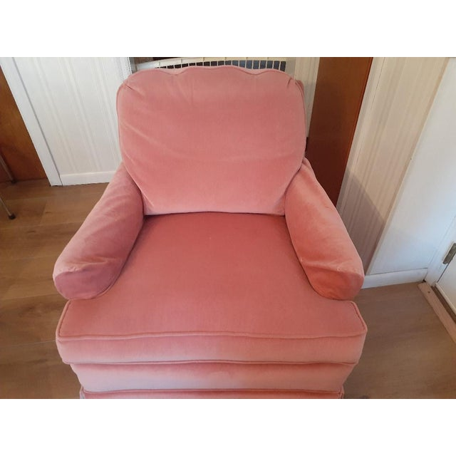 Drexel Heritage Frederick Edward Distictive Seating Club Chairs - A Pair For Sale - Image 6 of 12