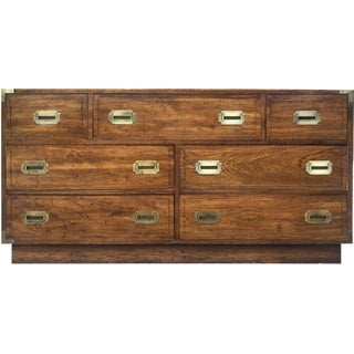 1960s Danish Modern Campaign Chest For Sale