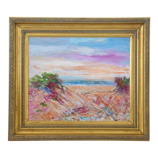 "Original Juan ""Pepe"" Guzman, Ventura California Ocean & Beach Painting For Sale"