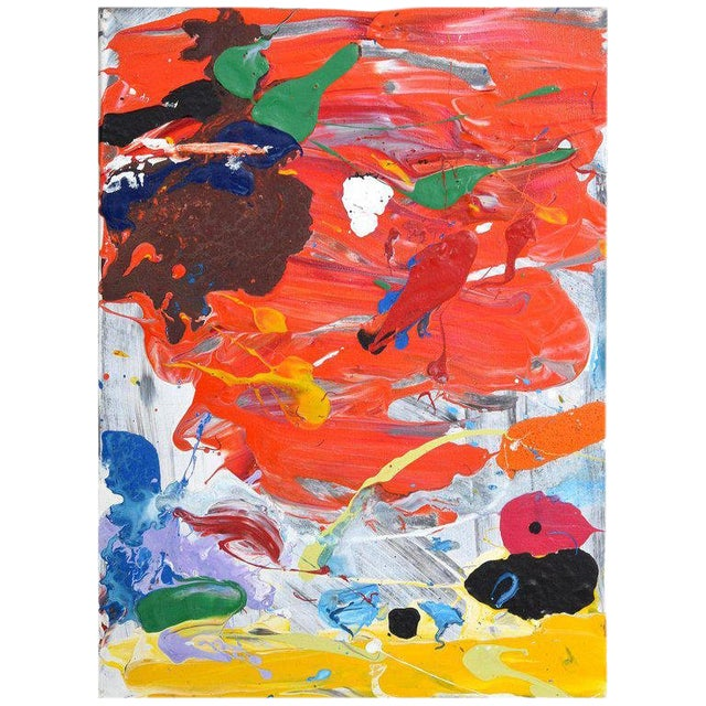 1980s Abstract Painting by John Seery For Sale