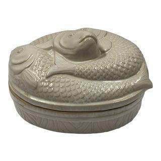 1960s Asian Fish Poacher Casserole Dish For Sale