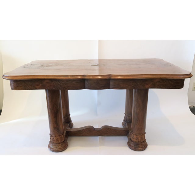 Beidermeier Style Dining Table - Image 2 of 8