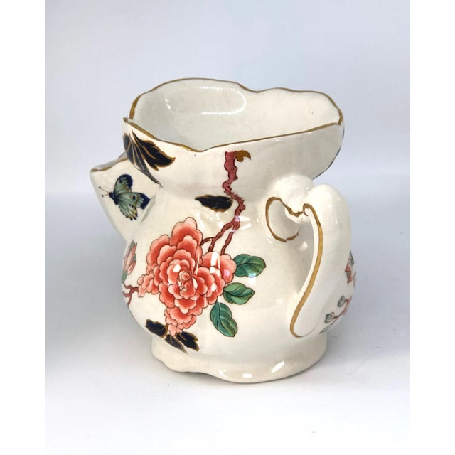 Vintage Chinese Rose Old Foley James Kent Staffordshire For Sale In New York - Image 6 of 12