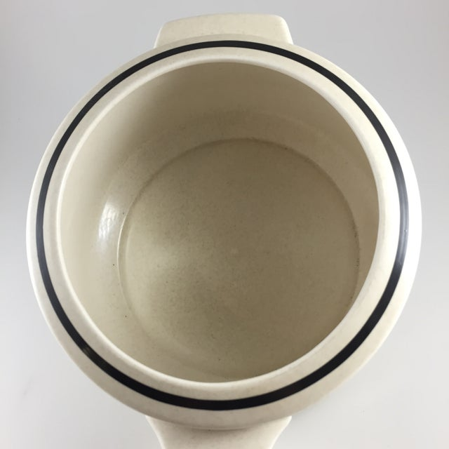 Ceramic Fall Bounty Stoneware Open Fondue Pot For Sale - Image 7 of 10