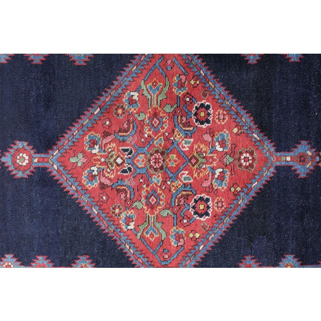 """Antique North West Persian Runner Rug - 3'5"""" X 16'5"""" - Image 5 of 5"""