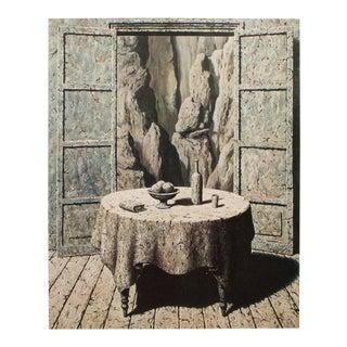 """1972 Rene Magritte, """"Souvenir De Voyage 3"""" Original Photogravure For Sale"""