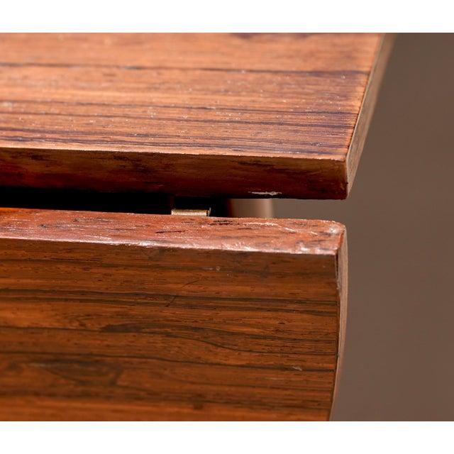 Niels Kofoed for Hornslet Mobelfabrik Henry Rosengren Hansen Rosewood Dining Table- 5 Pieces For Sale - Image 6 of 9