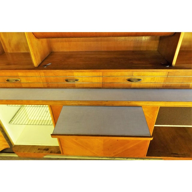 Mid-Century Modern Kitchen Hoosier Hutch - Image 10 of 11
