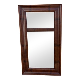 19th Century Eglomise Mahogany Mirror For Sale