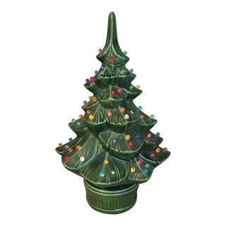 1970s Vintage Ceramic Christmas Tree For Sale