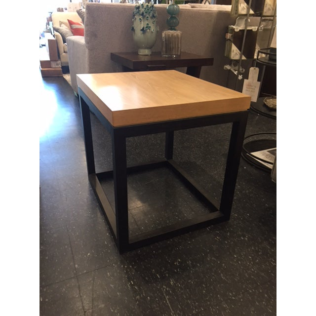 This versatile side table finds its inspiration in understated West Coast style. Clean architectural lines lend a fresh...