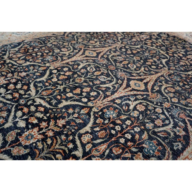 8' X 9' Vintage Wool Peshawar Oriental Rug For Sale In San Diego - Image 6 of 11
