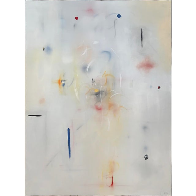 "Abstract Painting by Curtis Ripley, ""Bright Morning"" For Sale In San Diego - Image 6 of 6"