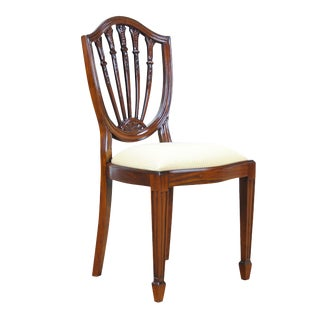 Shield Back Side Chair For Sale