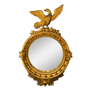 Early 19th Century Bullseye Mirror For Sale