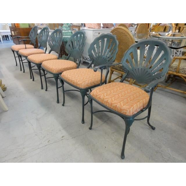Vintage Shell Back Chairs - Set of 6 - Image 11 of 11