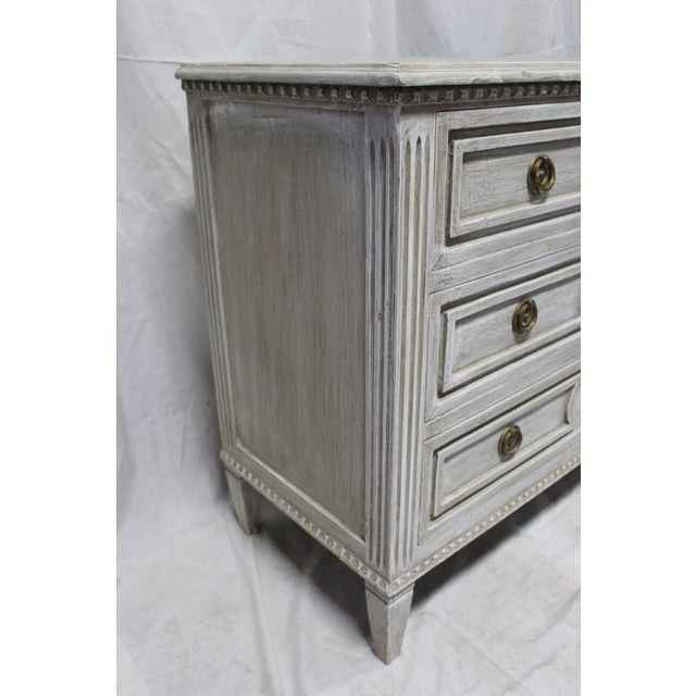 Early 20th Century Early 20th Century Antique Swedish Chest of Drawers For Sale - Image 5 of 6