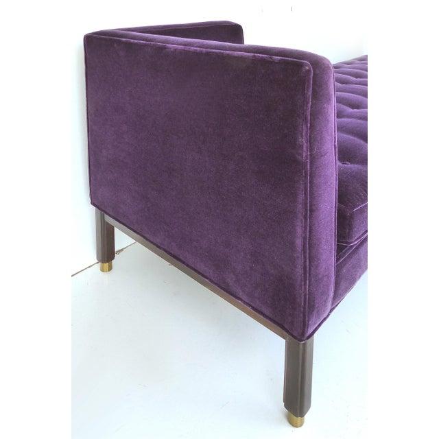Dunbar Furniture Edward Wormley Tête-à-Tête Sofa (Model 5944) for Dunbar, c 1950 For Sale - Image 4 of 7