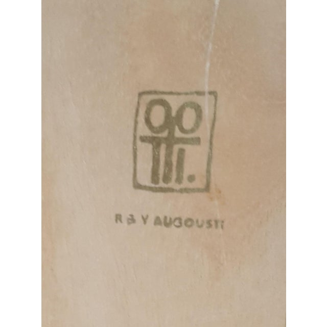 R & Y Augousti Wood & Shagreen Jewelry Box - Image 8 of 9
