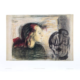 Edvard Munch, the Sick Child, Poster For Sale