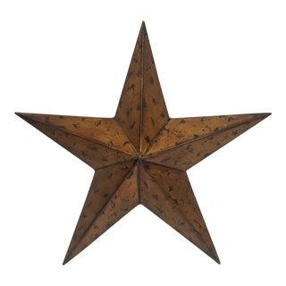 Large Metal Lone Star
