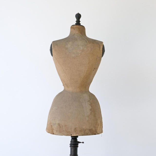 19th Century Wasp Waist Stockman Dressmakers Dummy For Sale - Image 6 of 8