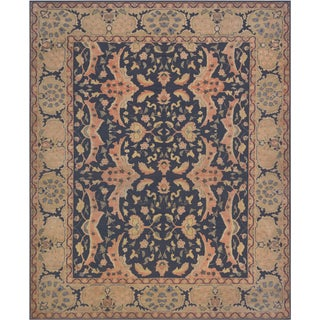 Mansour Fine Handmade Sultanabad Rug For Sale