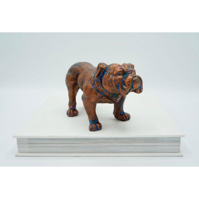 Mid-Century Modern Bulldog Statue For Sale - Image 6 of 8