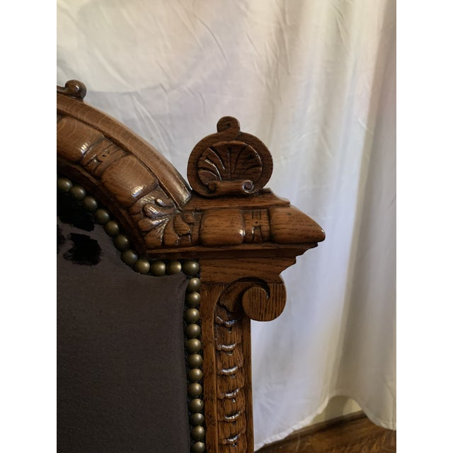 Renaissance Revival Dining Chairs Set of 12 For Sale - Image 6 of 13