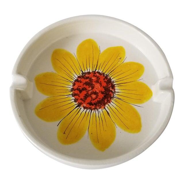 Vintage Italian Rosenthal Netter Ceramic Ashtray. For Sale