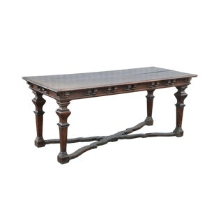 Italian Baroque Walnut Centre Table